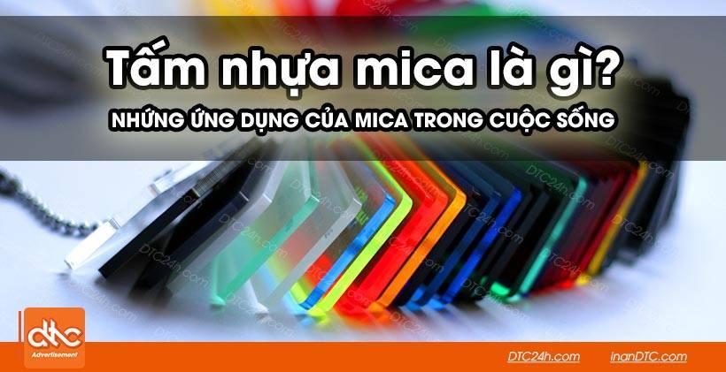 Tấm nhựa mica là gì