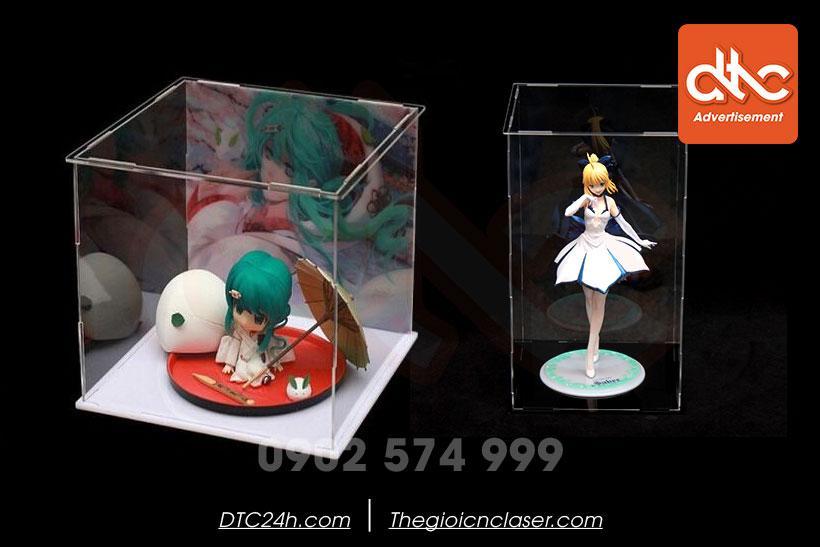hộp mica trưng bày đồ chơi