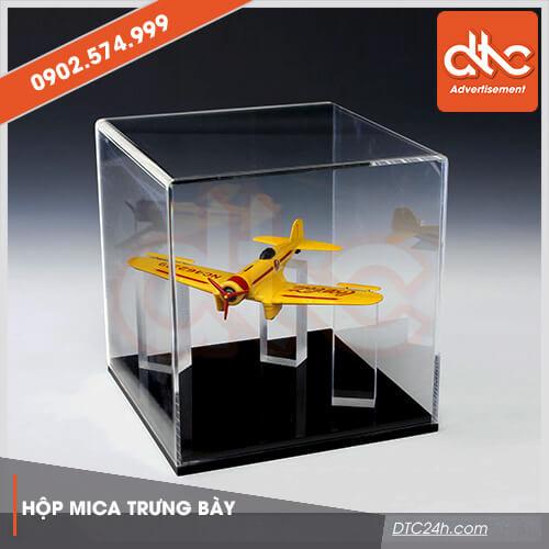 hộp mica trưng bày mô hình đồ chơi