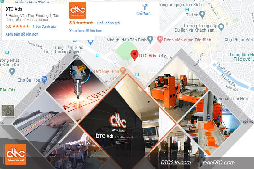 DTC Ads là địa chỉ làm menu mica chất lượng