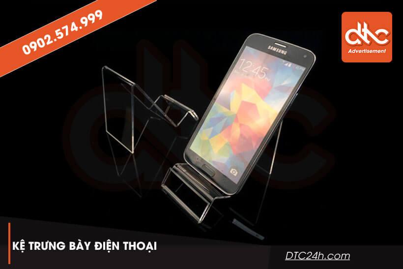 Kệ mica trưng bày điện thoại cao cấp giá rẻ TPHCM