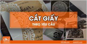 Cắt giấy bằng laser taijTPHCM va Đà Nẵng