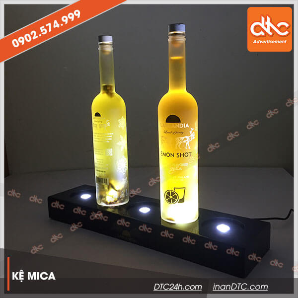 Kệ mica trưng bày rượu đẹp 11