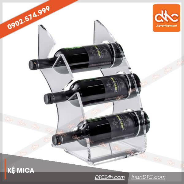 Kệ mica trưng bày rượu đẹp 16