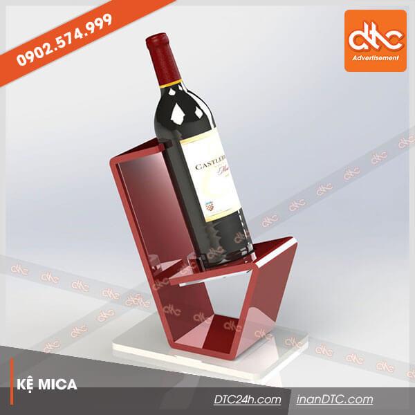 Kệ mica trưng bày rượu đẹp 8